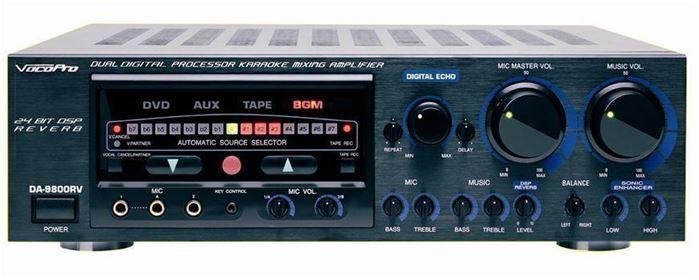 Vocopro Da 9800rv Mixing Amplifier Hdkaraoke Shop For
