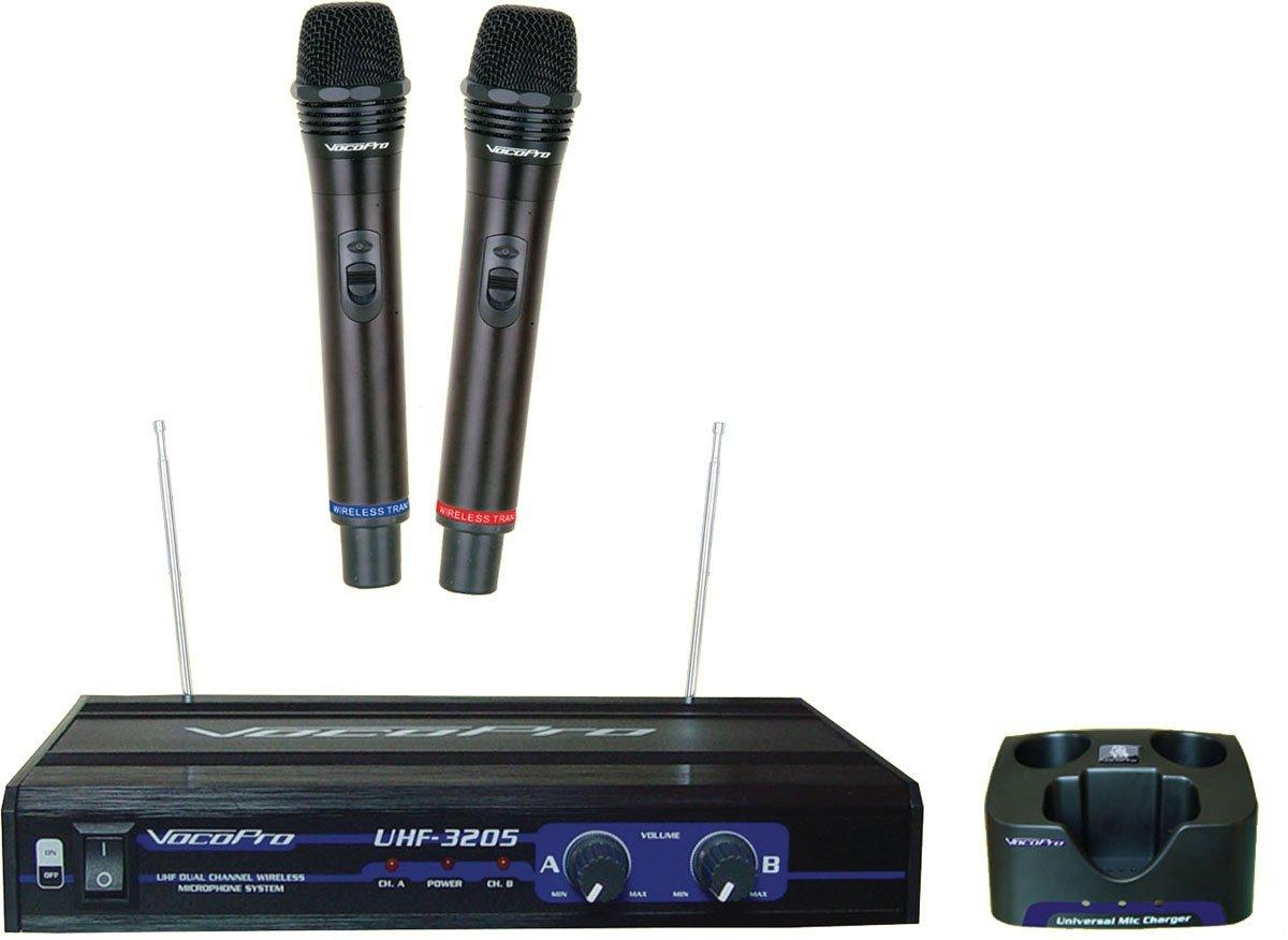 Basic Bundle Vocopro 300w Amplifier 250w Speakers 2 Mic Karaoke Wireless Microphone Hifi Speaker Sing A Song Microphones Hdkaraoke Shop For The Smartest Streaming